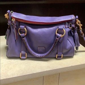 Dooney and Bourke small satchel in lavender